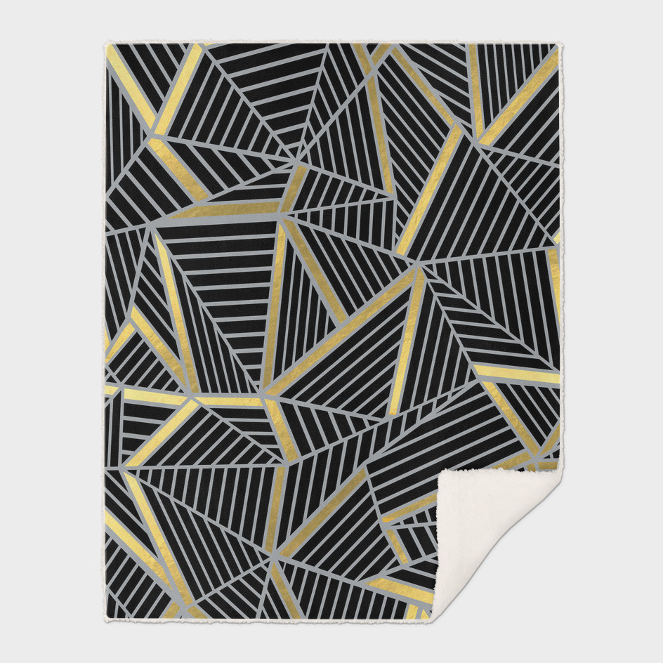 Ab Lines 2 Gold and Black