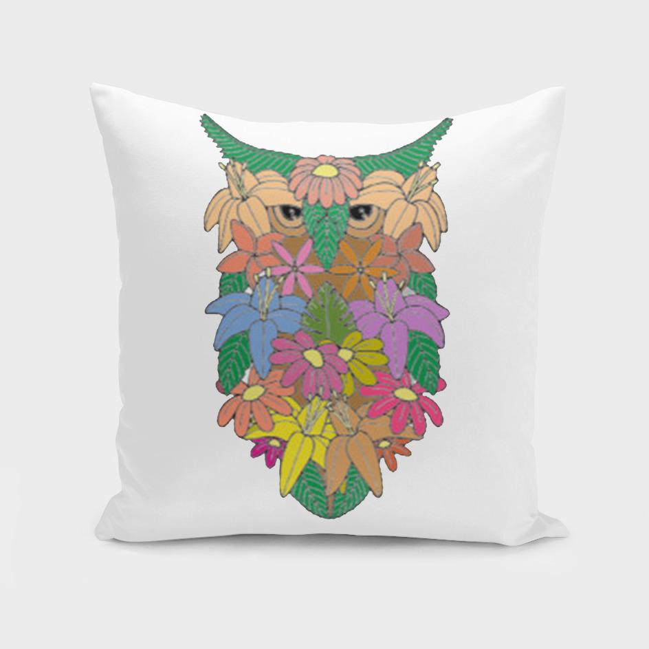Flowered Owl a