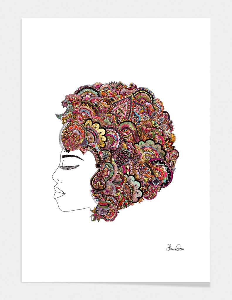 Her Hair - les fleur edition