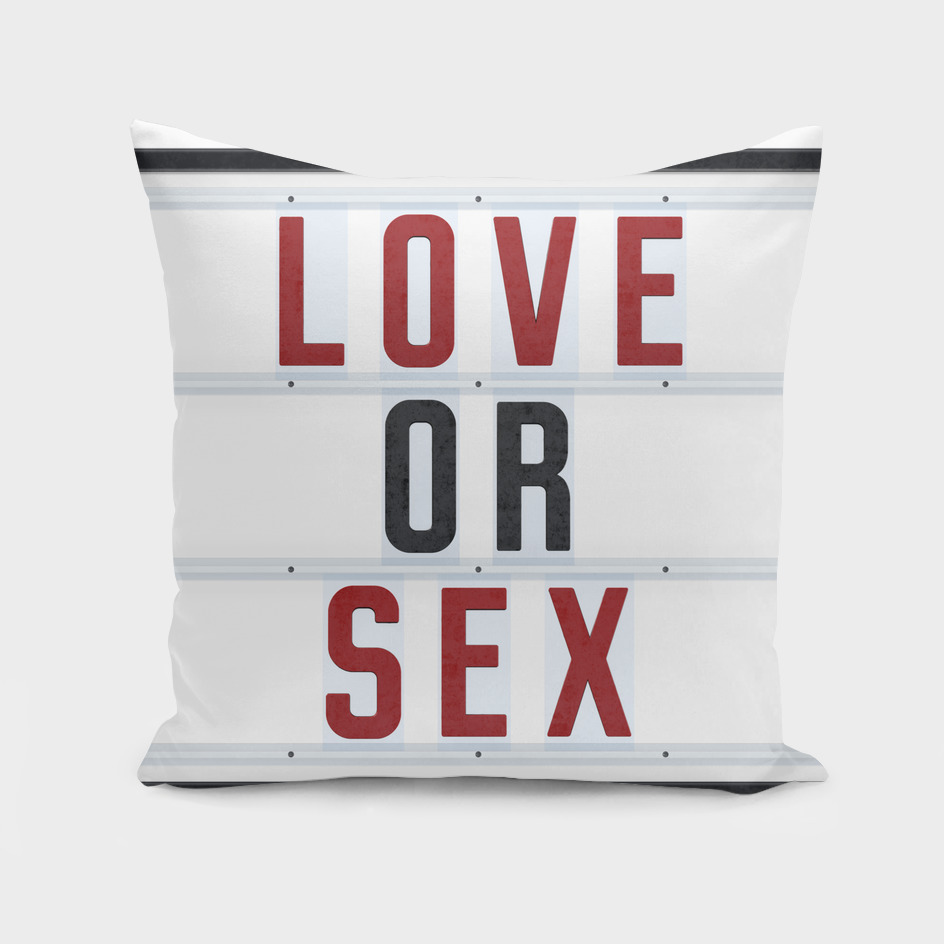 Love or Sex