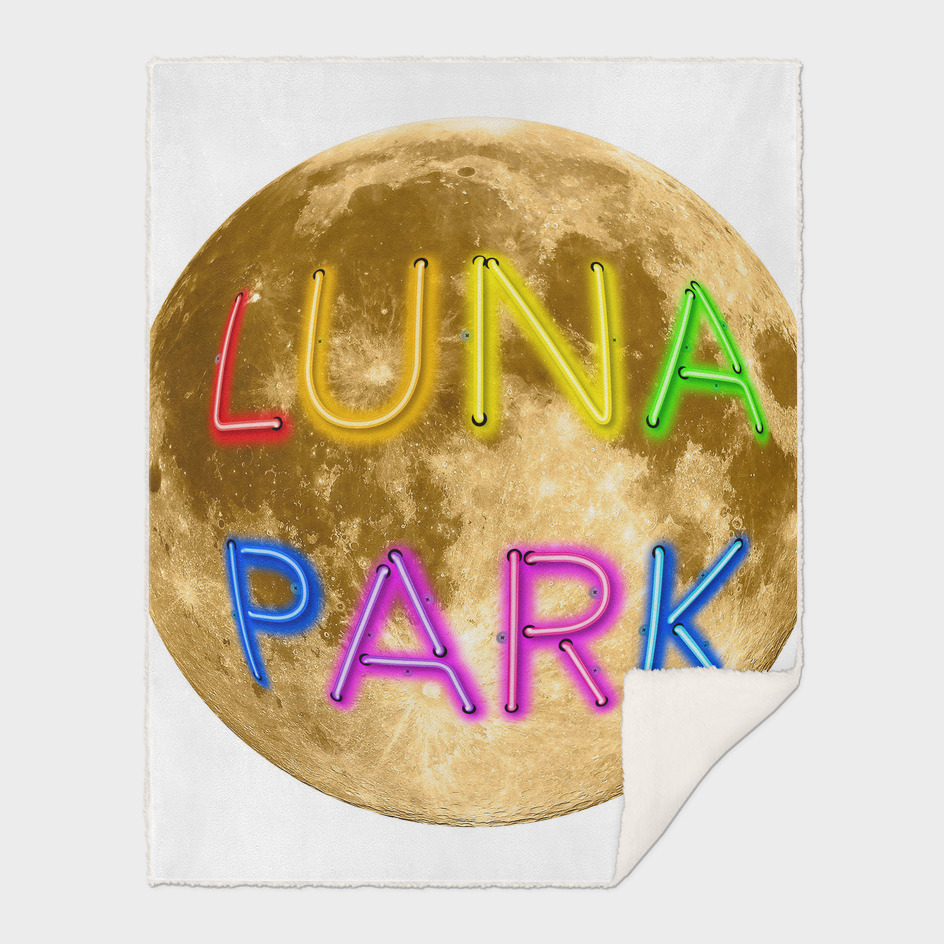Luna Park - Moonage - round