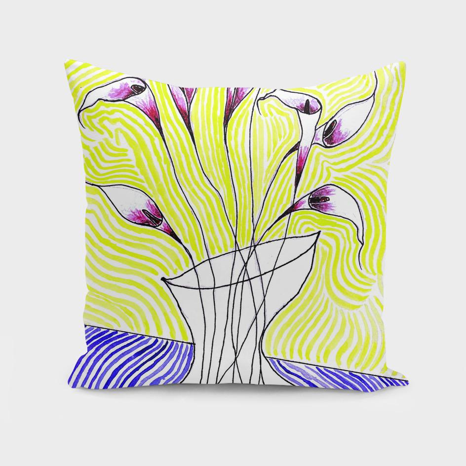 Callas In Vase