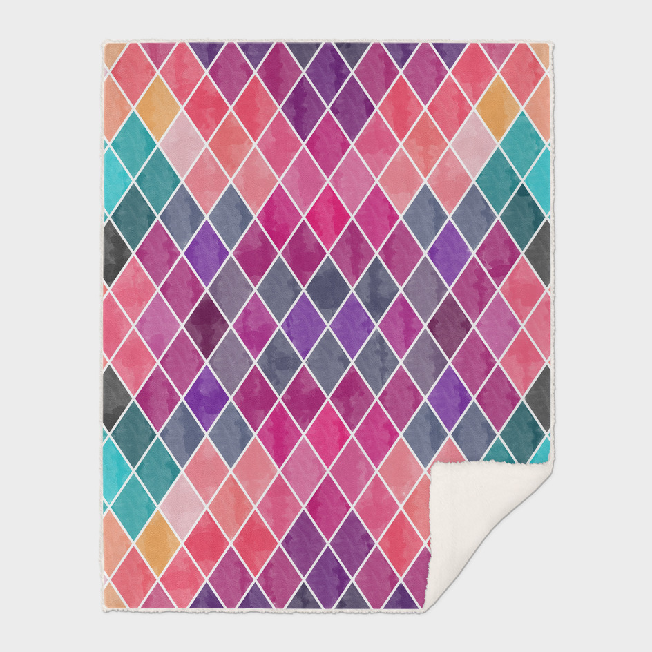 Watercolor Geometric Patterns II