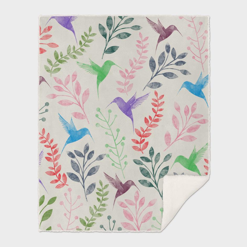 Floral & Bird II