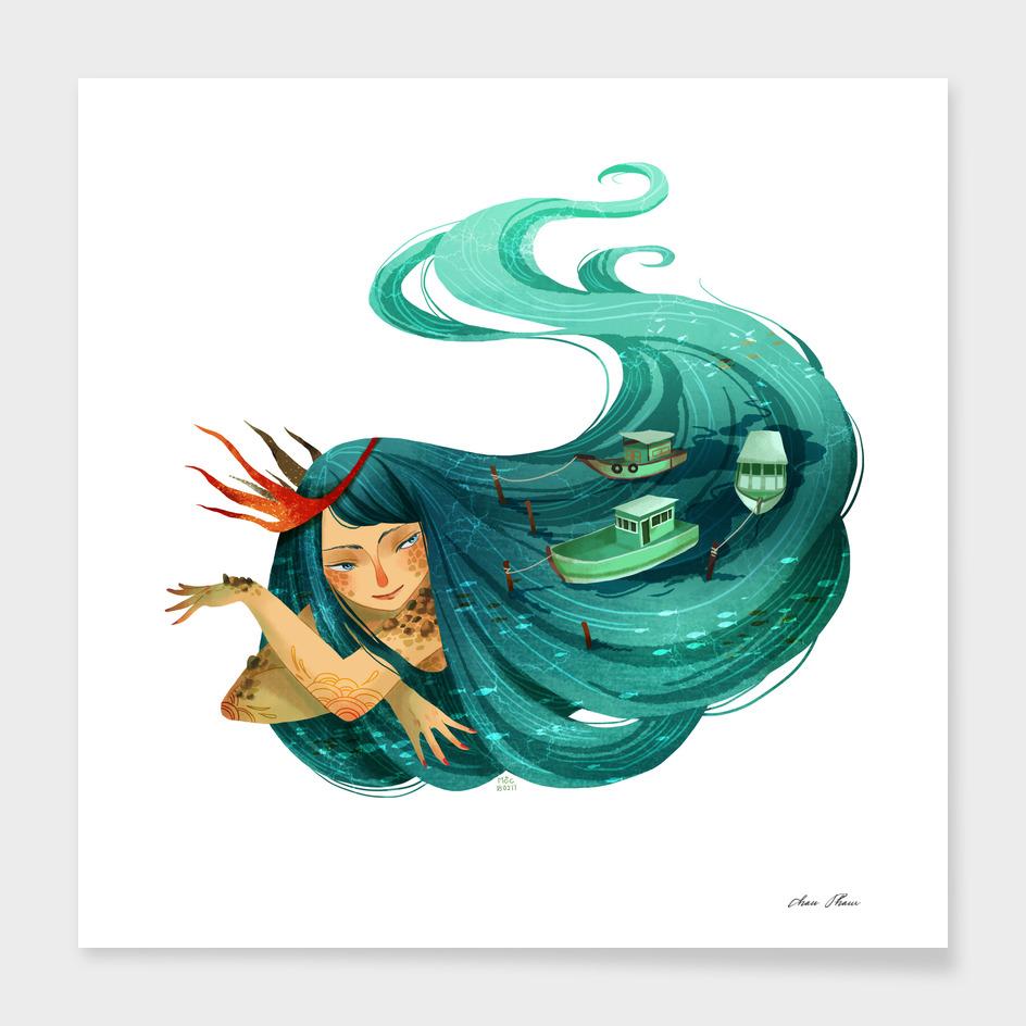 Ocean Girl #2