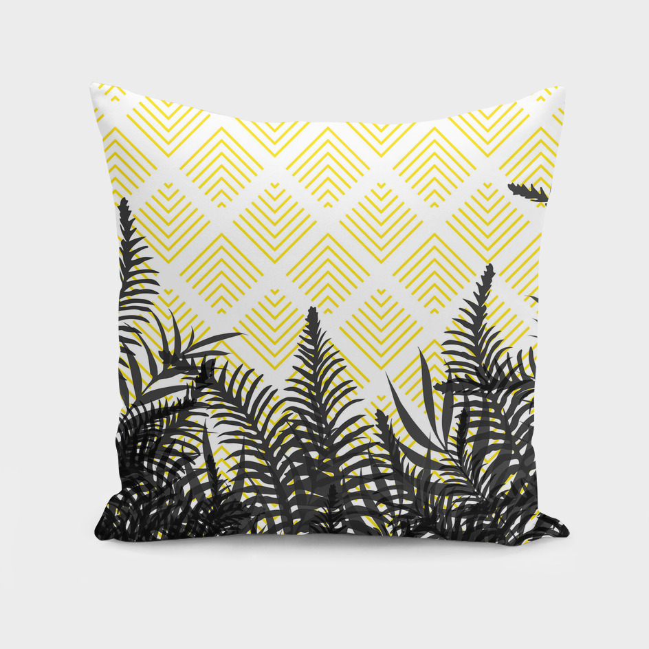 Tropical Ferns on Pattern