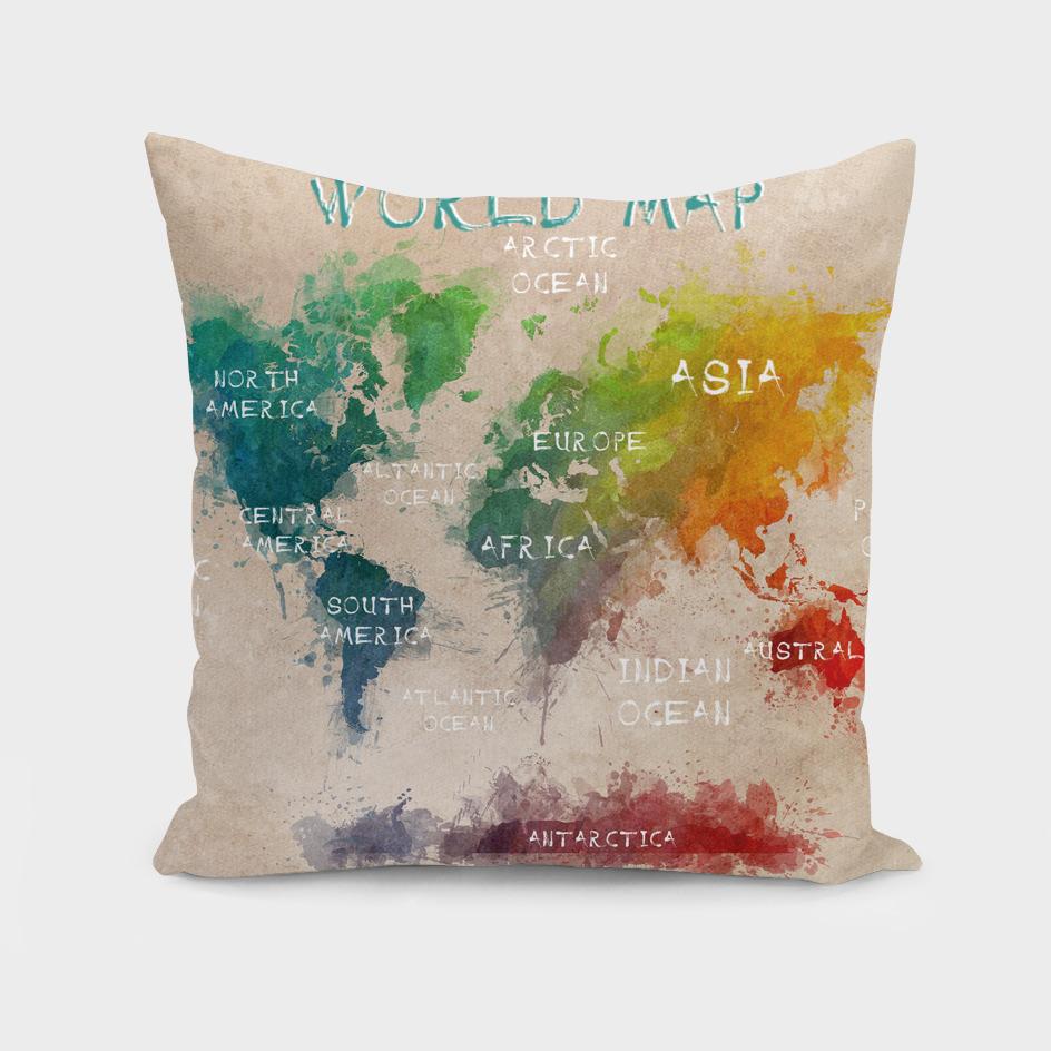 world map 17