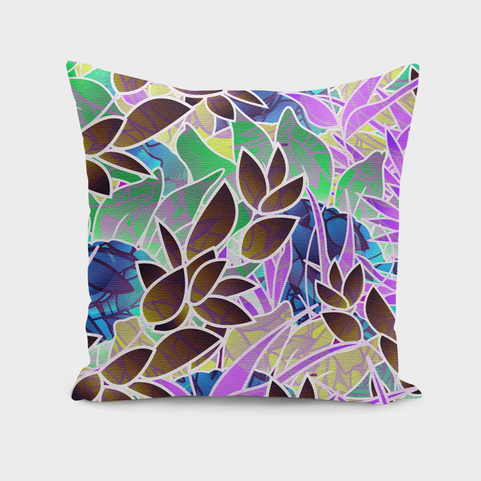 Floral Abstract Artwork C18