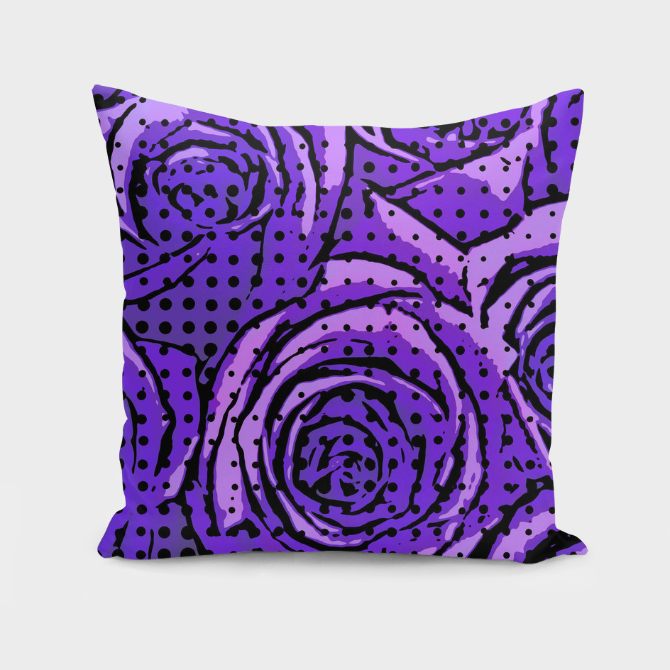 pop art roses (Purple)