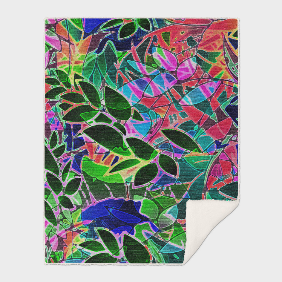 Floral Abstract Artwork C16
