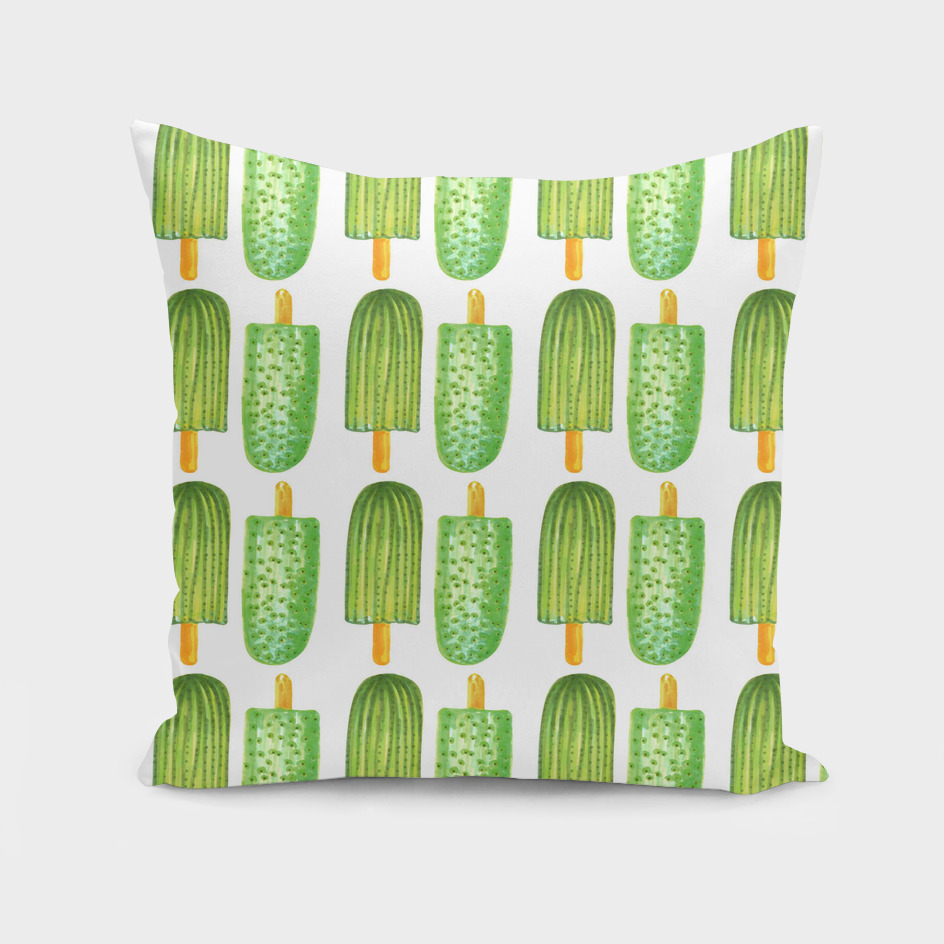 Cactus Popsicles Pattern