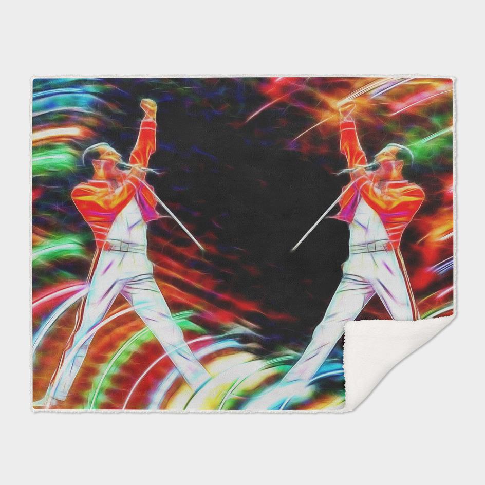 Freddie Mercury Mirroring