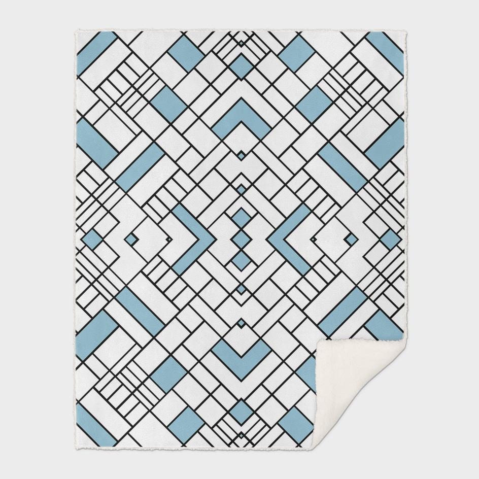 PS Grid 45 Sky Blue