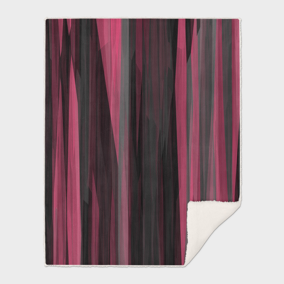 Pink gray and black streaks