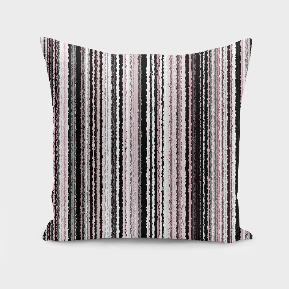 Pink Smoked Stripes