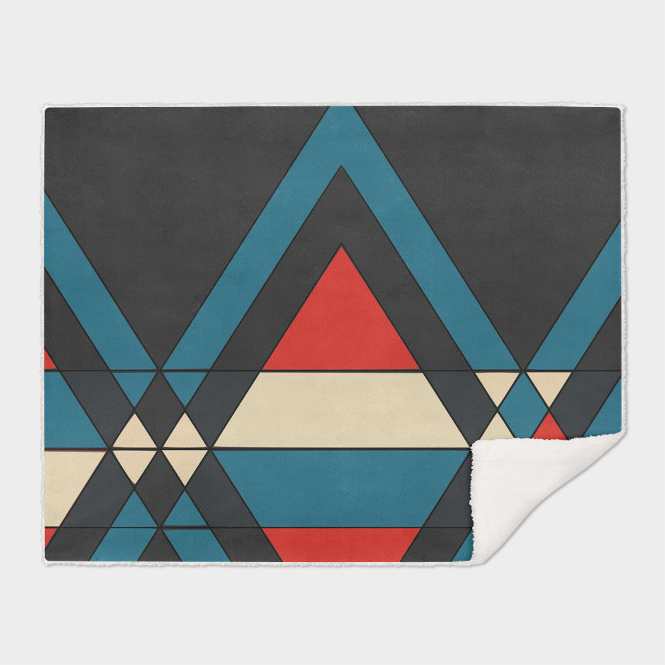 tribal geometry navy