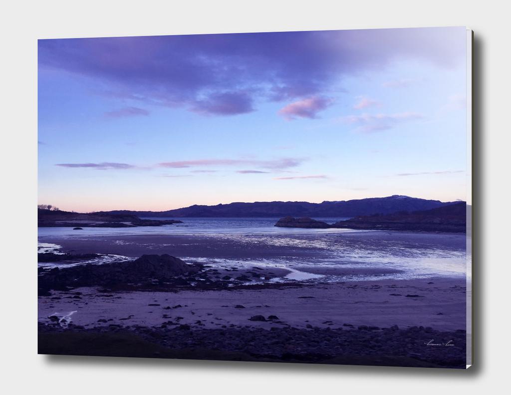Sunset at Loch Eil
