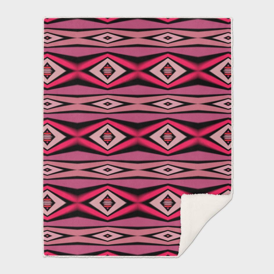 pink and black diamond pattern