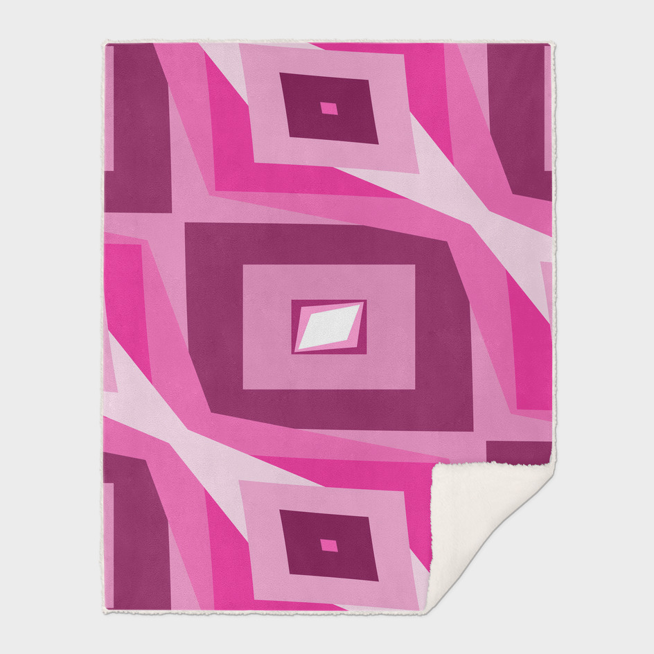 Fuchsia Diamond abstract