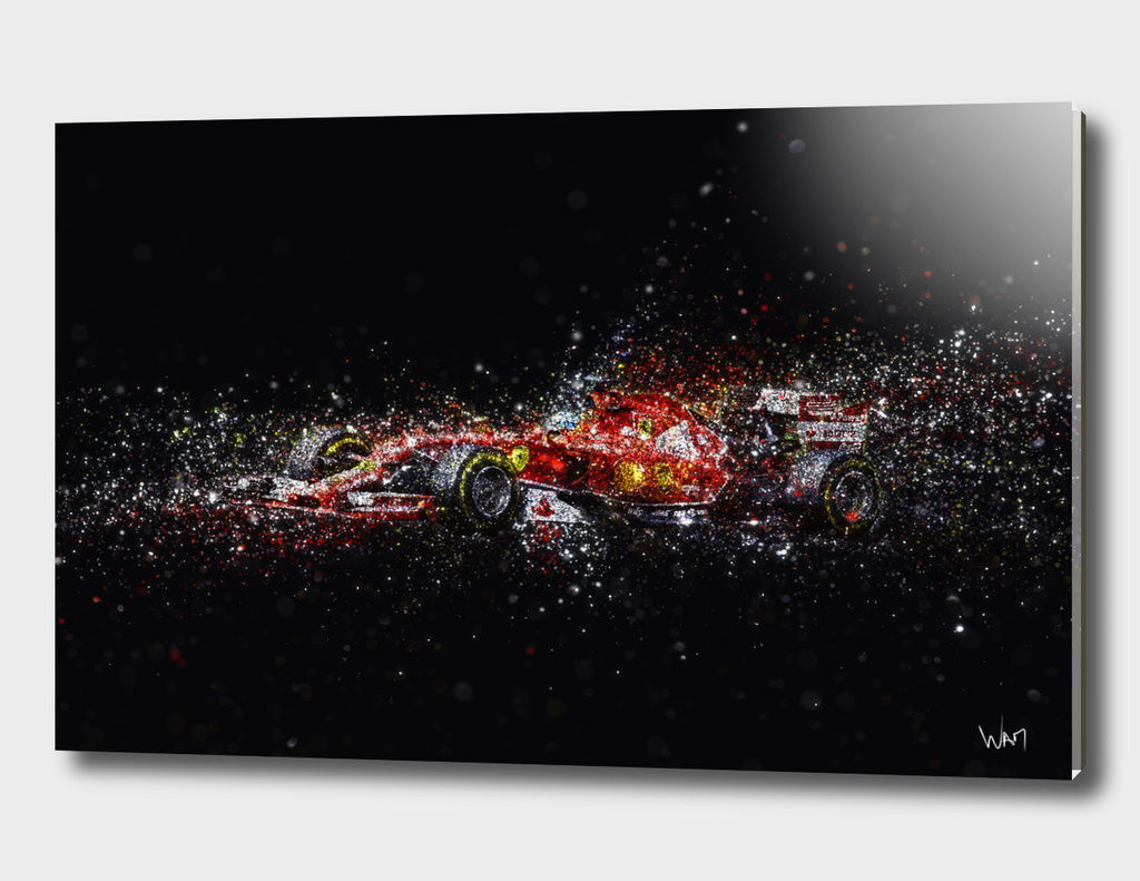 Formula 1 glitter