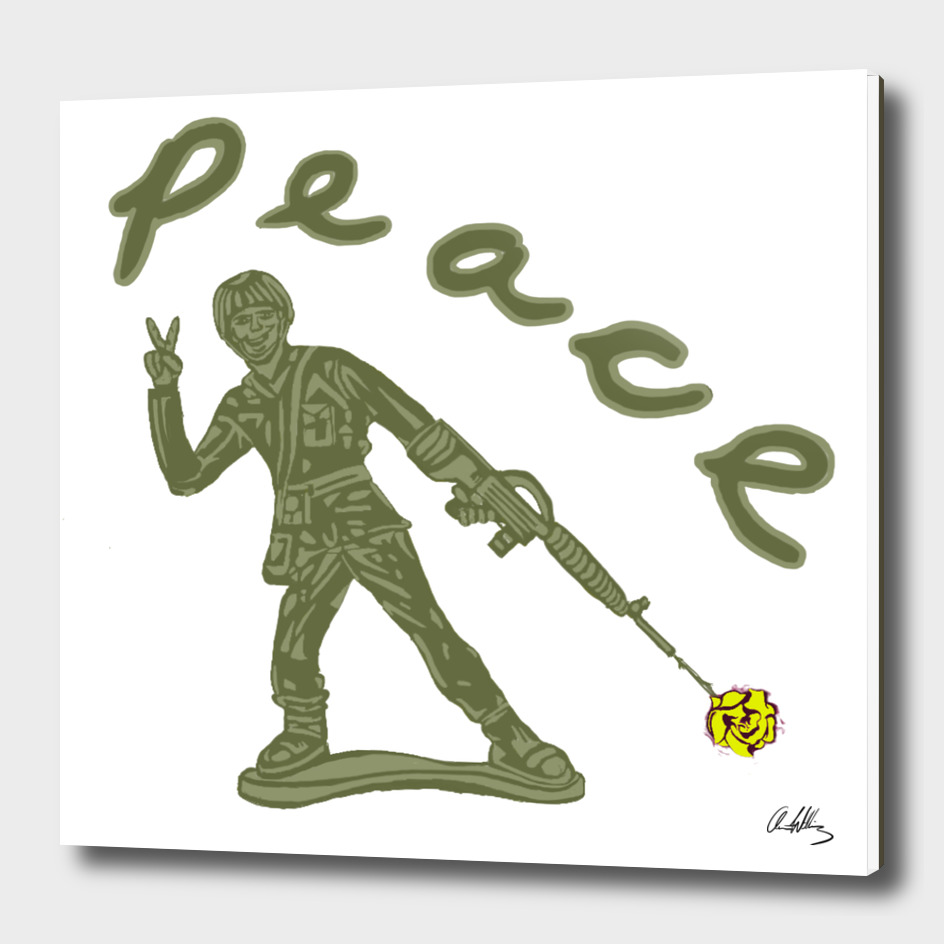 Toy Soldier for Peace
