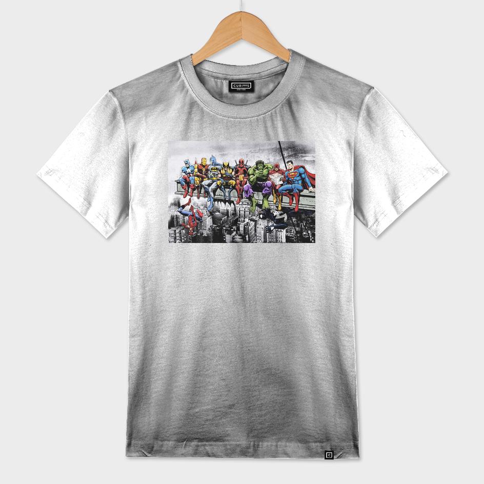 6ae89cb516d Mens Marvel Superhero T Shirts - BCD Tofu House