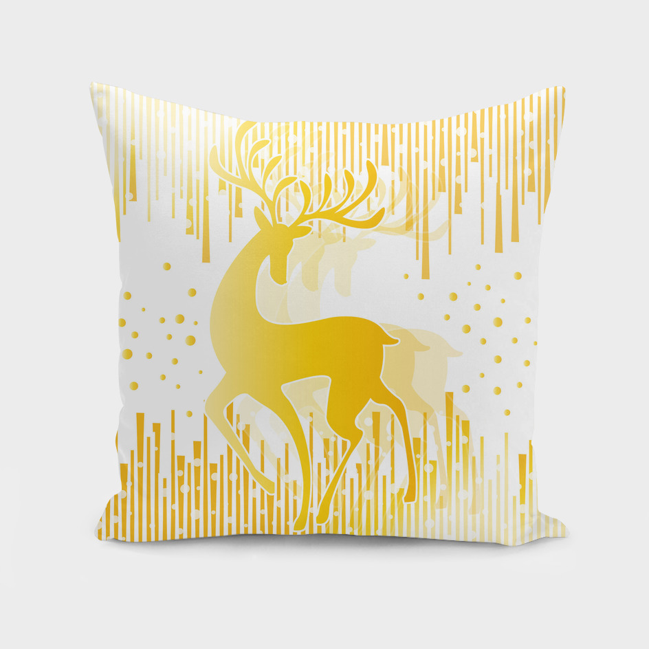 Dancing Deer  - Golden