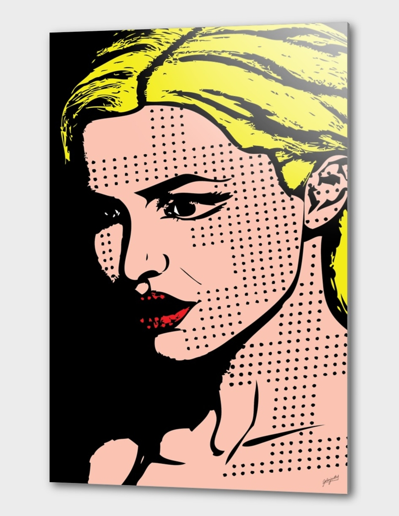 Lady Pop Art
