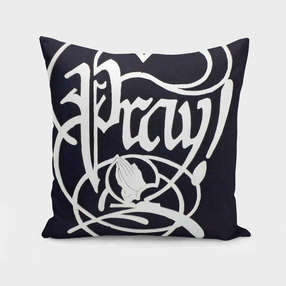 front cover for pray inside sleeve