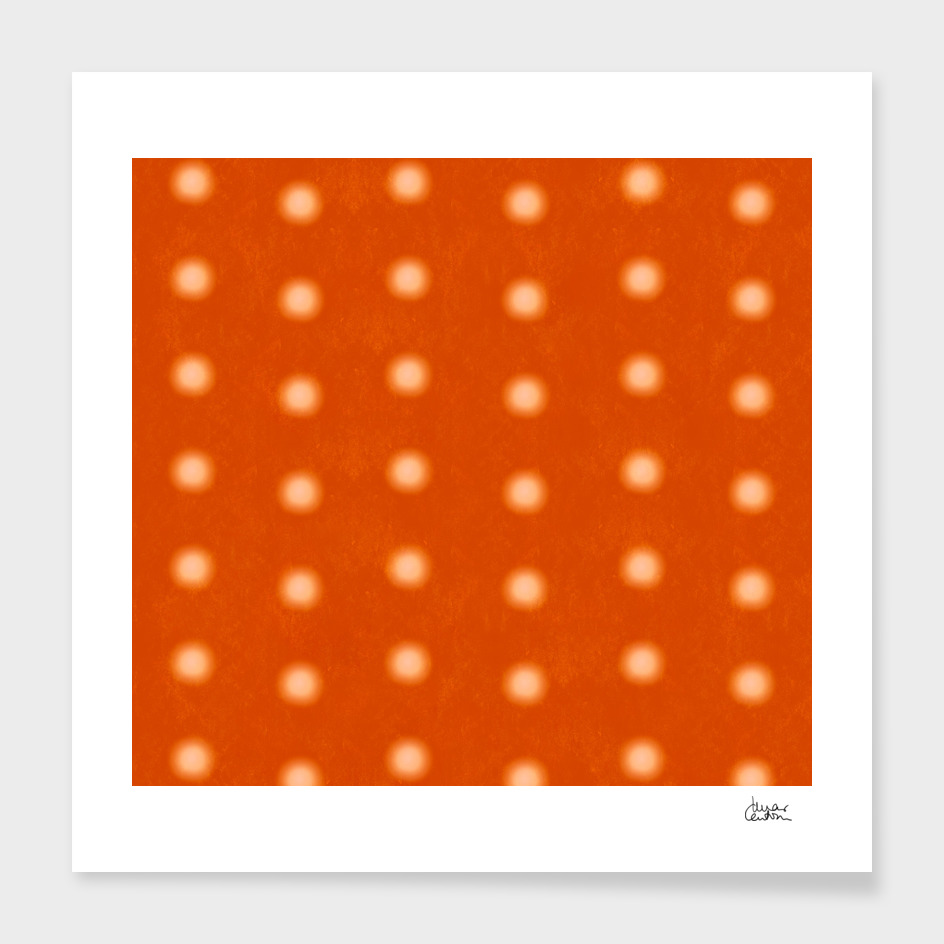 """Dots & Orange Cream"""