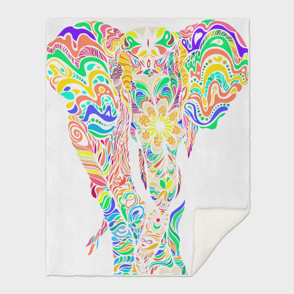 Not a circus elephant transparent version