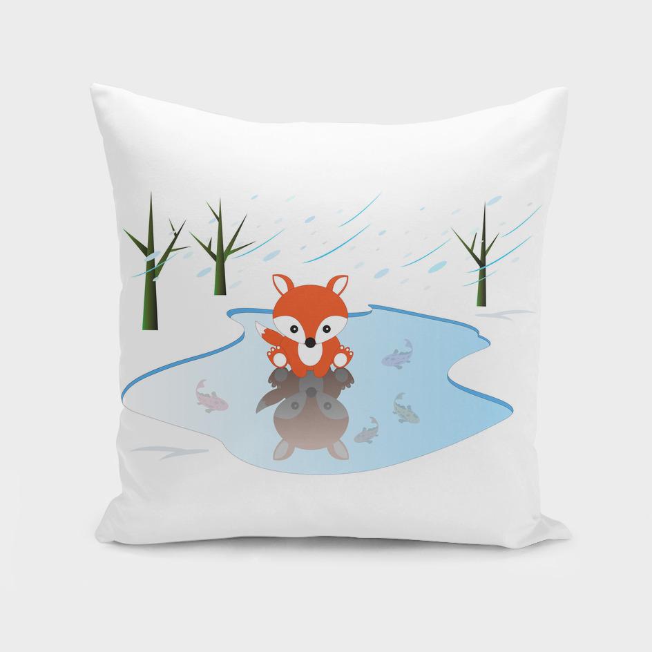 Little Fox On Ice