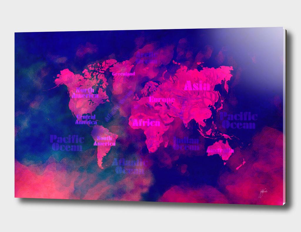 world map 51