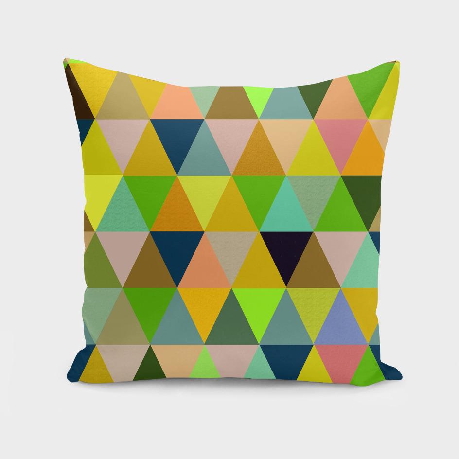 Abstract #442 Triangles Colorés