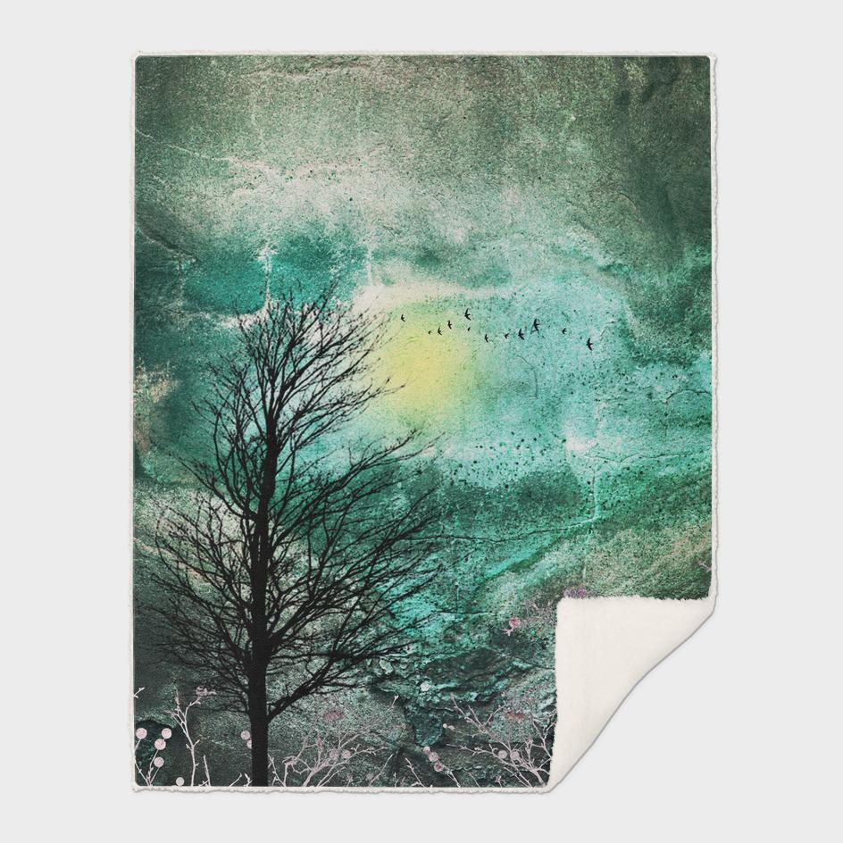 TREES under MAGIC SKY I