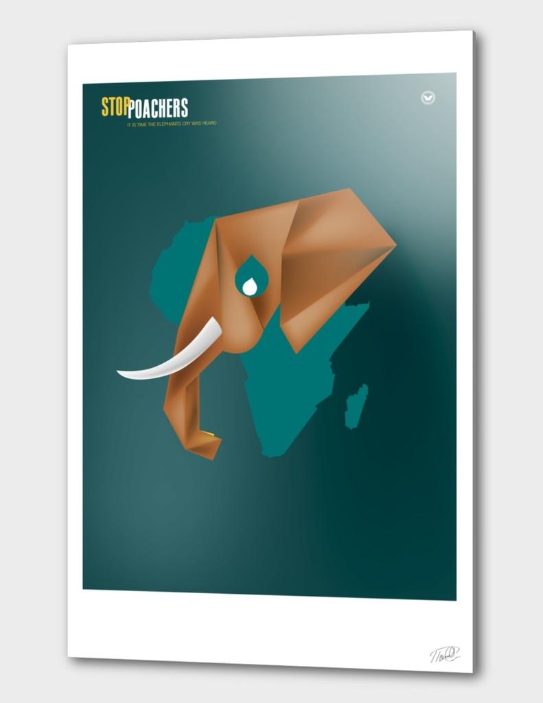 Stop elephant poachers