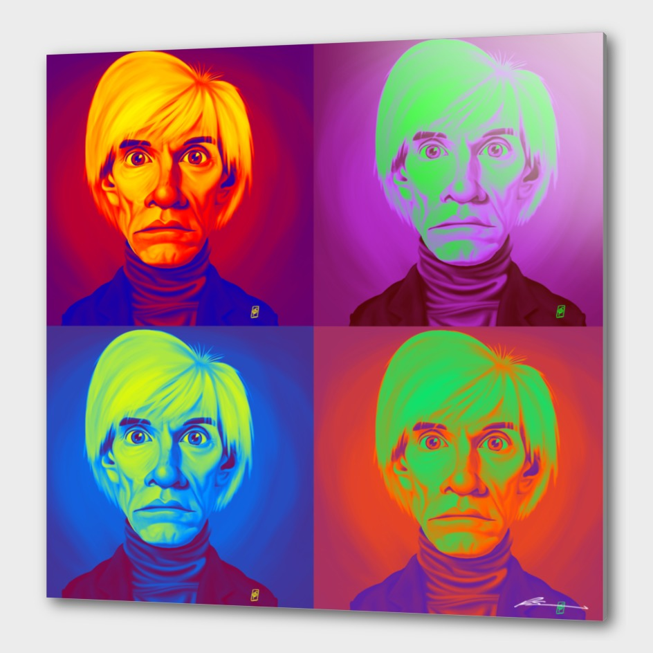 Andy Warhol on Andy Warhol
