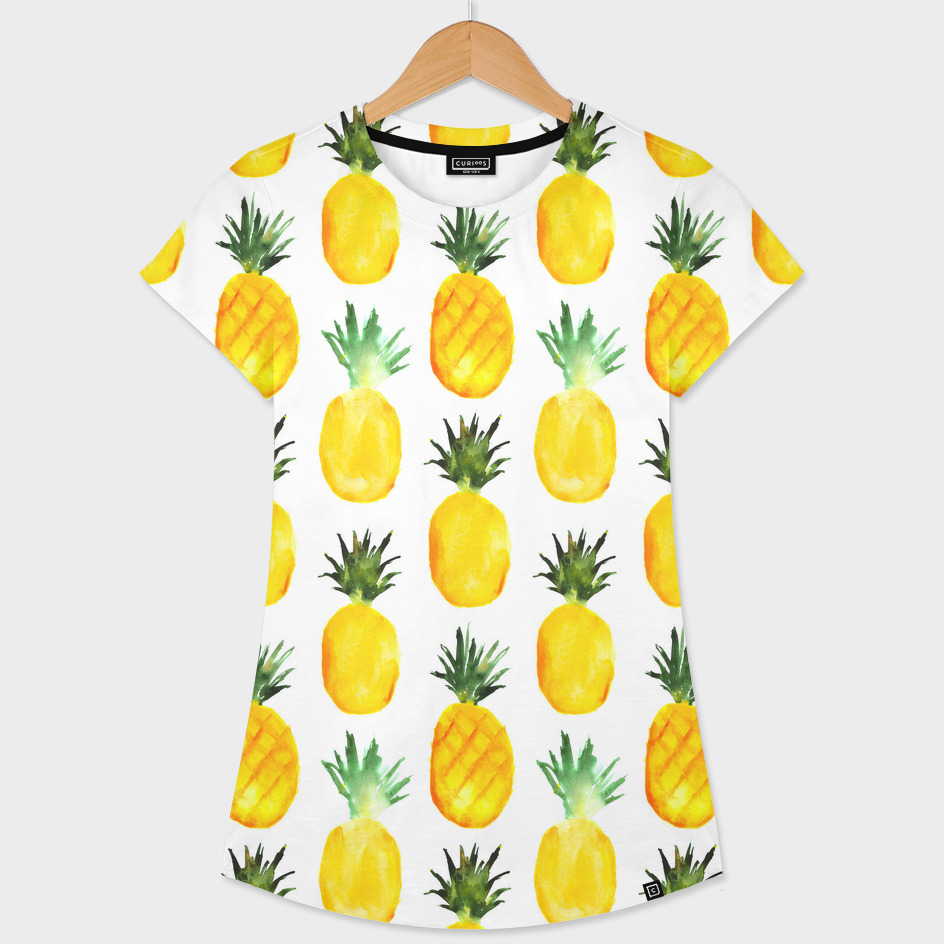 Pineapple love    watercolor