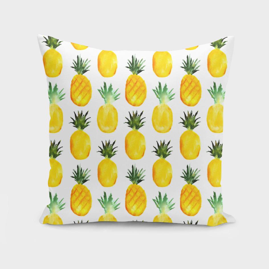 Pineapple love || watercolor