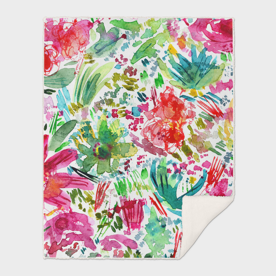Floral vibes    watercolor