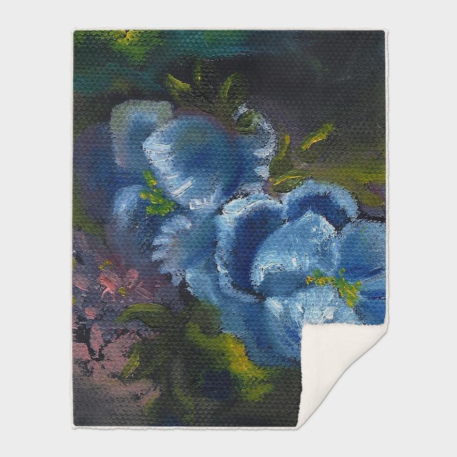 Wild Blue Flowers