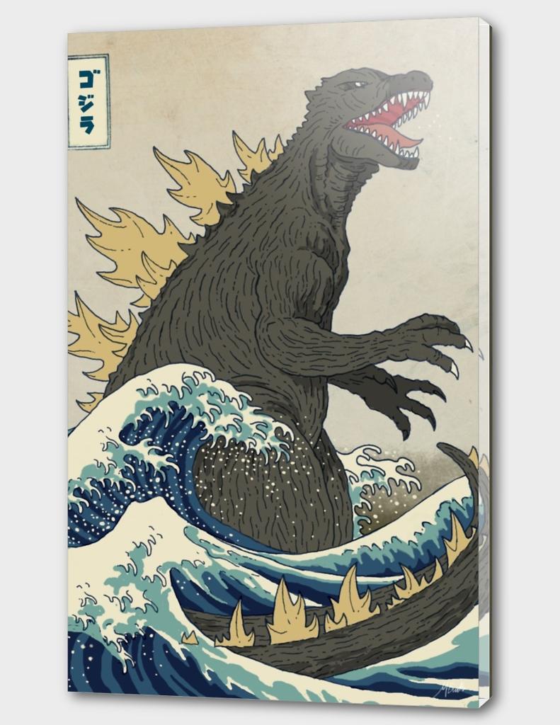 The Great Godzilla Off Kanagawa