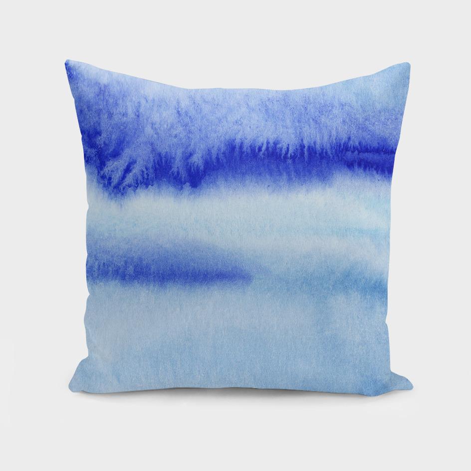 Blue wash || watercolor