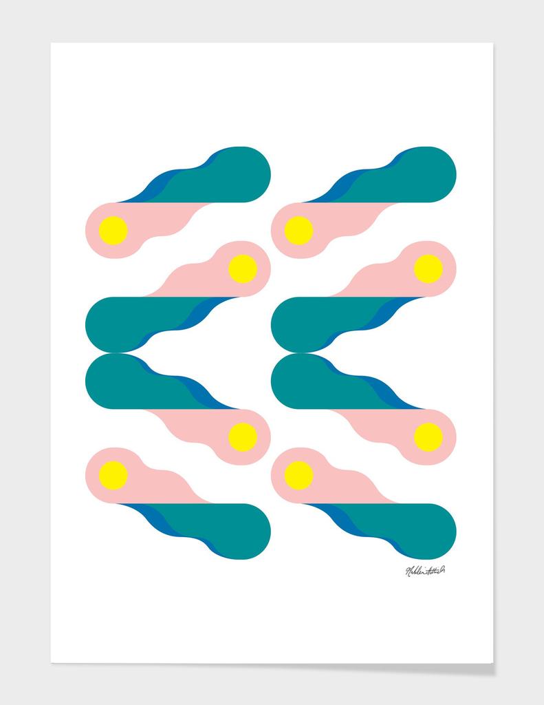 Graphic Kaleidoscope Poster 4