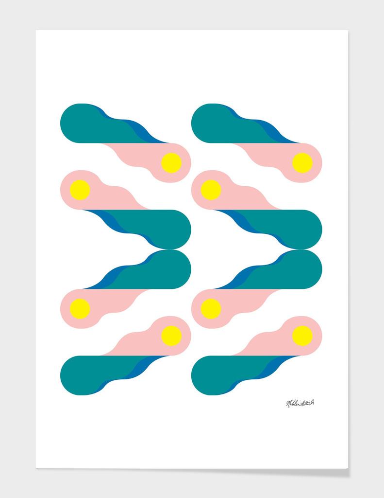 Graphic Kaleidoscope Poster 3
