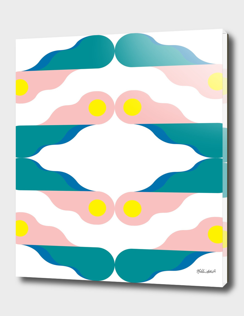 Graphic Kaleidoscope Poster 2