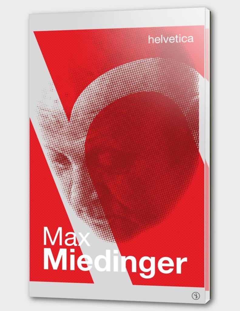 Max Miedinger (Type designer of Helvetica)