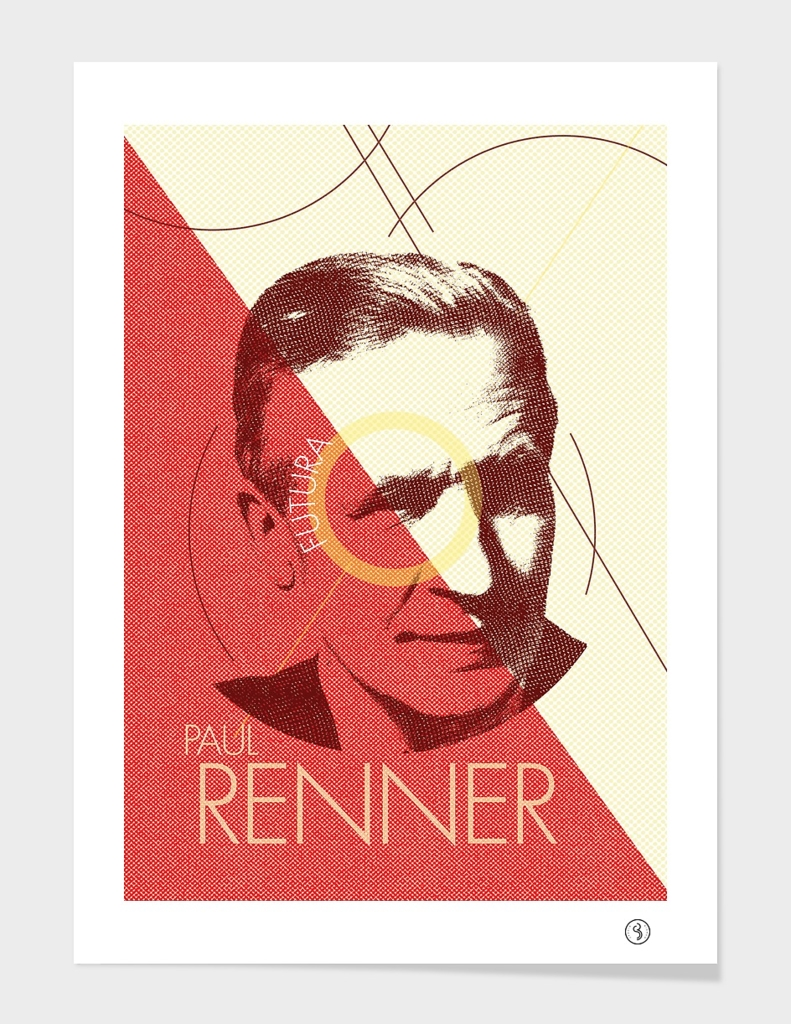 Paul Renner (Type designer of Futura)