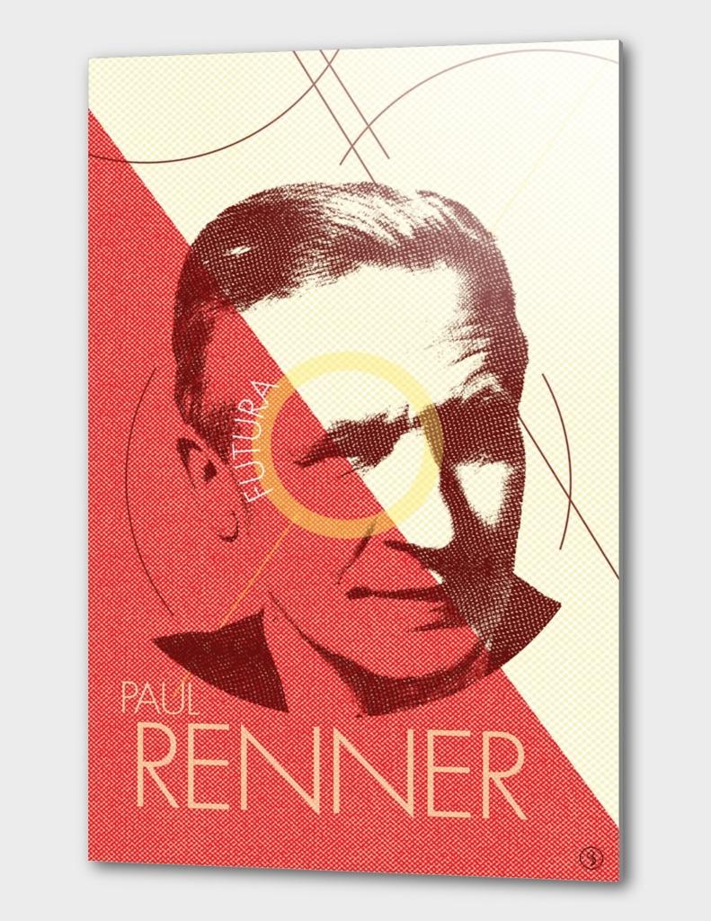 Paul Renner (Type designer of Futura)