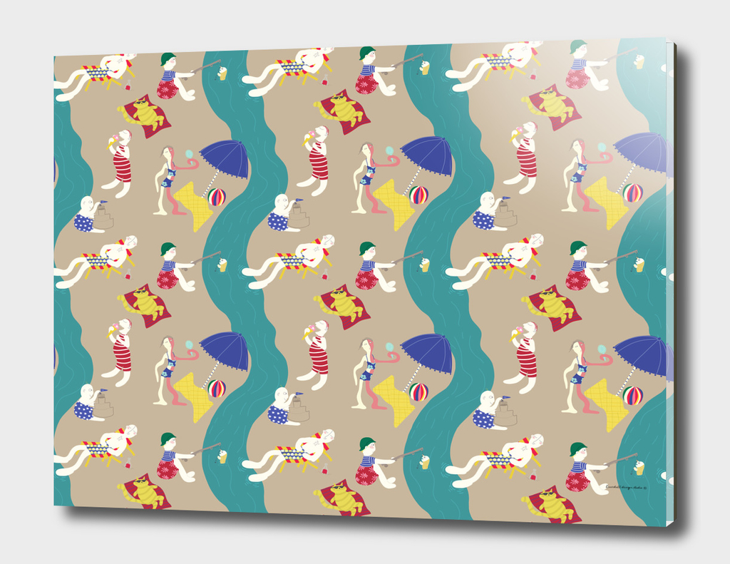 The last day of summer - Fabric pattern